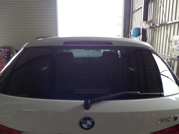 加古川市S様 BMW X1 フィルム施工