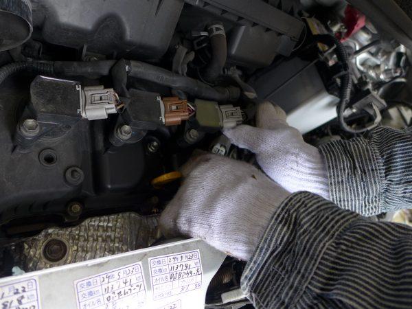 加古川市T様 ワゴンR O2センサー交換