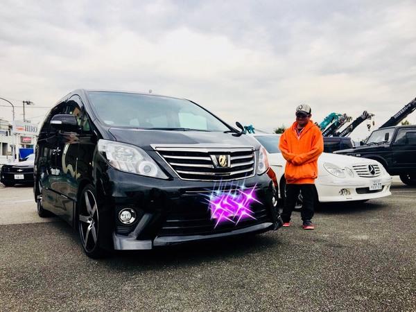 ✿加古川市T様 アルファード 納車!