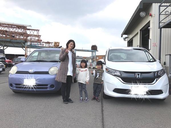 ✿ 高砂市T様 フリード 納車!
