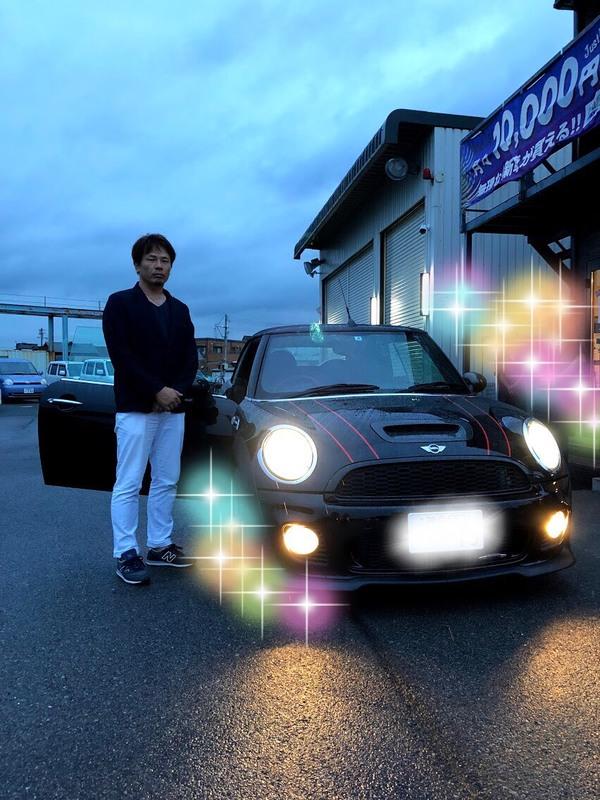 ✿神戸市T様 ミニ コンバーチブル納車!
