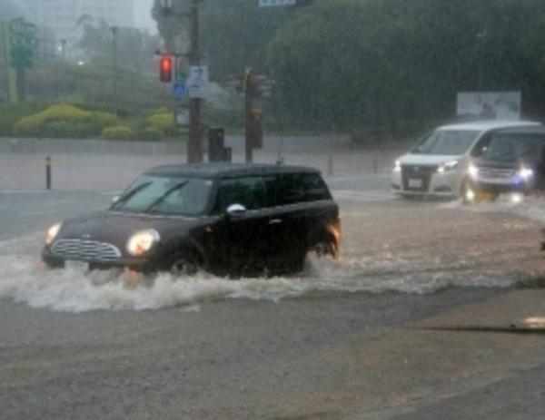 ✿水害による損傷を補償してくれる車両保険!