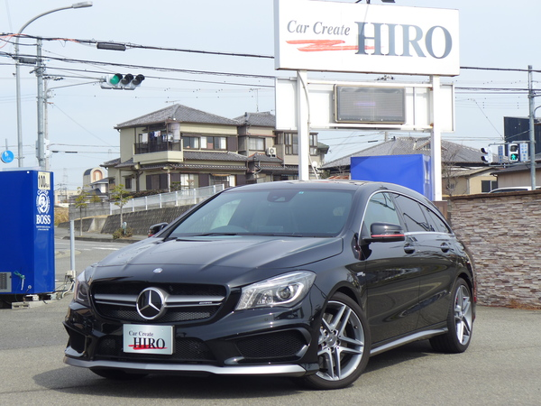 ✿Mercedes-AMG CLA 45 4MATIC Shooting Brake 入庫しました!