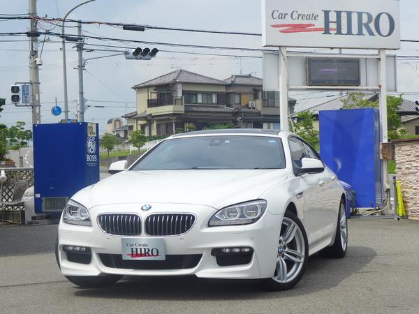 BMW 640iグランクーペ Mスポーツ 純正ナビ 革シート 1オーナー