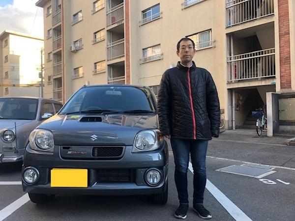 大阪府 N様 Kei ワークス納車!